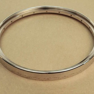 Tubaphone tone ring - nickel plated