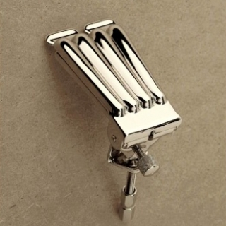 Pre-War Four-Hump Clamshell tailpiece - Grover style