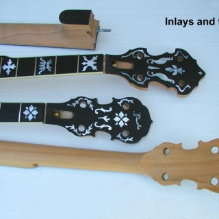 Inlays and frets