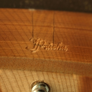 Our new necks for old banjos are signed with our stamp