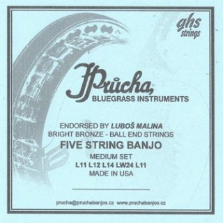 Five String Banjo Medium Set  L11 L12 L14 LW24 L11