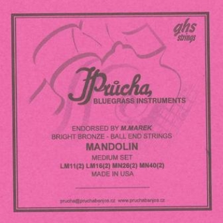 Mandolin Medium Set LM11(2) LM16(2) MN26(2) MN40(2)